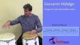 Giovanni Hidalgo congas in old and modern salsa - Tutorial
