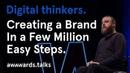 Creating a brand in a million easy steps Haraldur Thorleifsson ueno
