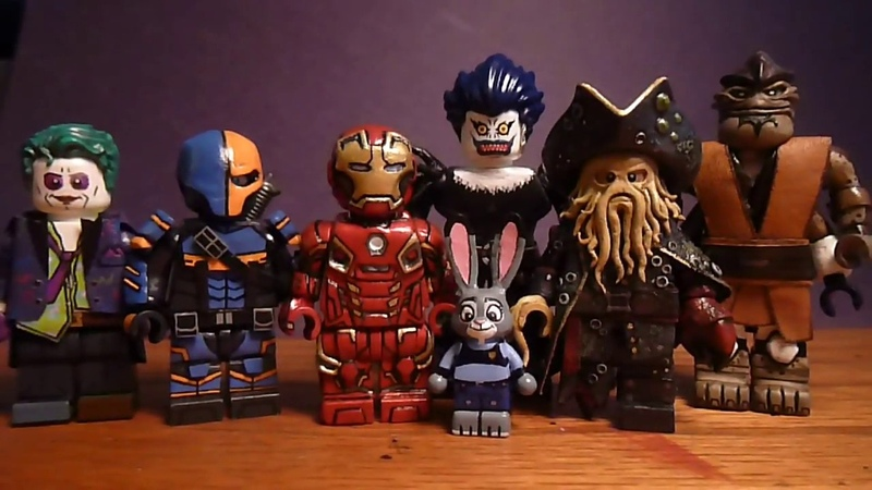 Top 10 Favorite Custom Lego Minifigures I Have Made.