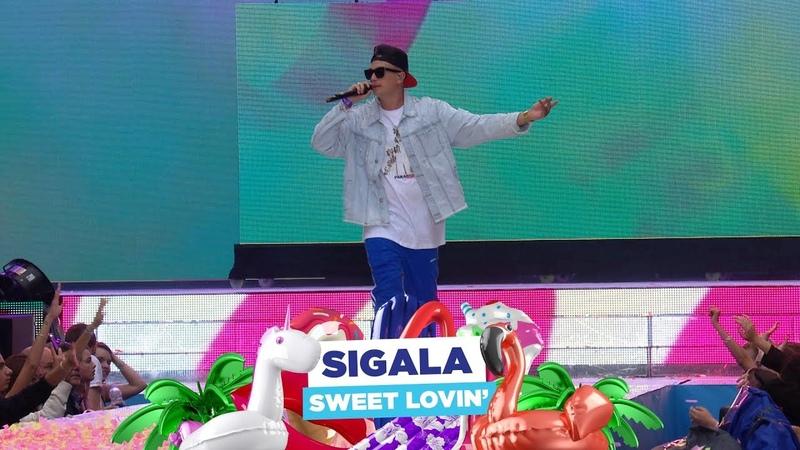 Sigala 'Sweet Lovin'' live at Capital's Summertime Ball 2018