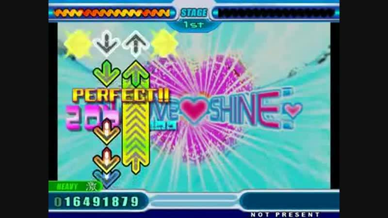 StepMania DDR 8th Mix Extreme Love Shine