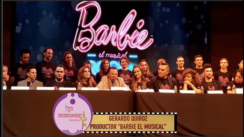 ¡GERARDO QUIROZ PRESENTA BARBIE EL MUSICAL!