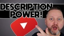 How To YouTube: Power Up Video Descriptions 💡💡💡
