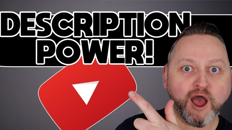 How To YouTube Power Up Video Descriptions 💡💡💡