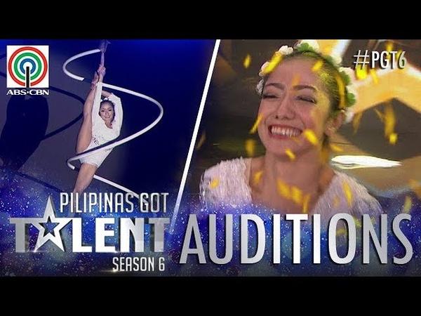 Pilipinas Got Talent 2018 Auditions: Kristel De Catalina - Spiral Pole Dancing