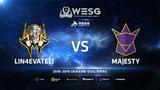Lin4evateli vs MAJESTY, map 2 train, WESG 2018 Ukraine Qualifier #3
