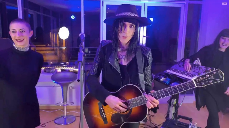 IAMX - acoustic live at StageIt, Germany 2019 HD