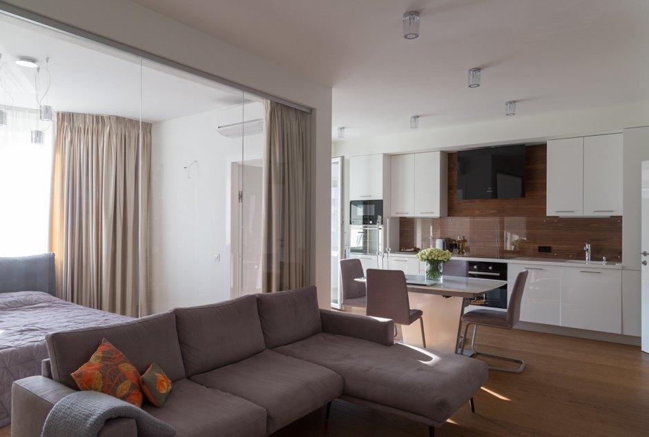 Прекрасный пример квартиры-студии