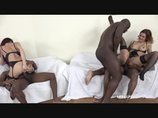 Sofia & billie star – those hot sluts love anal sex with big black cocks, group sex orgy anal porno