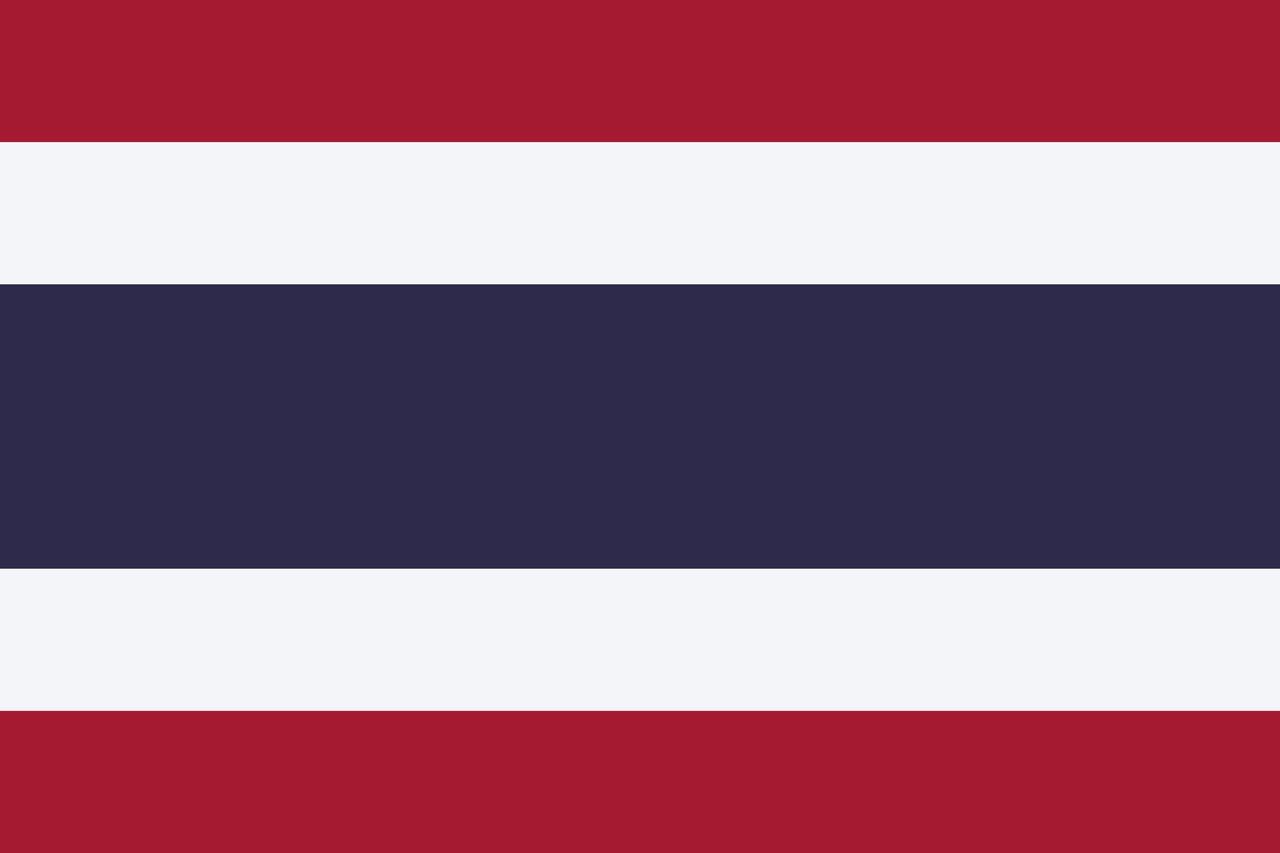 Флаг Таиланд