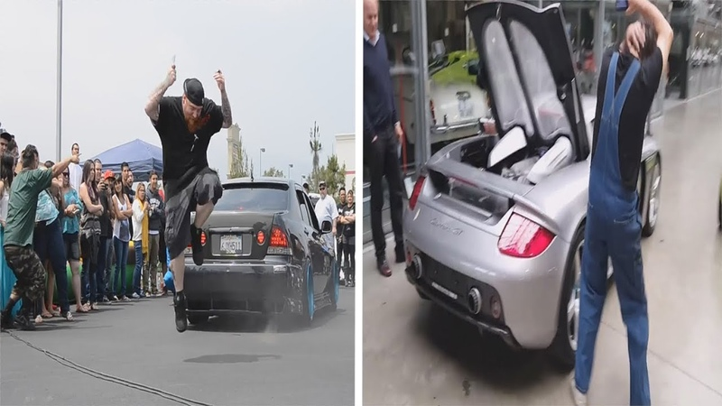 LOUD EXHAUSTS SCARE PEOPLE COMPILATION 2018 PART 2