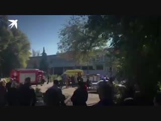 Взрыв в колледже в Керчи 17 октября: 10 человек погибли, 50 пострадали