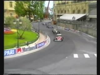 F1 1994. гран-при монако. этап 4 из 16. гонка