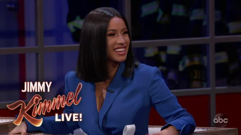Can You Guess Which Part of Cardi B's Body Her Baby Broke? l Jimmy Kimmel Live