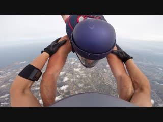 Прыжок в Крыму из вертолета МИ-8 с Дэном и Катюхой