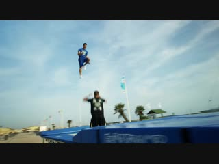 World's Best Trampoline Tricks! in 4K! Eurotramp