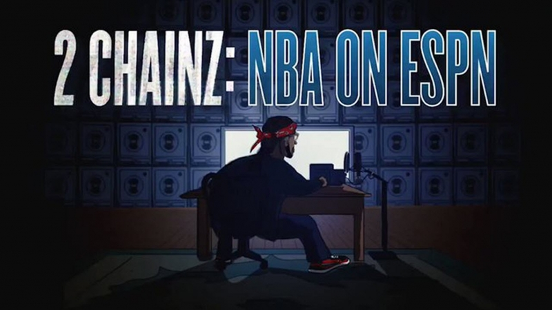 2 Chainz NBA On TNT Commericial