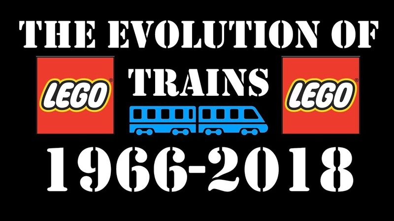 The EVOLUTION of Lego TRAINS 1966-2018