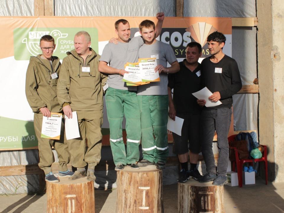 Команды мастеров, занявшие 3 призовых места в конкурсе