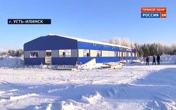 В аэропорту Усть-Илимска достраивают терминальный комплекс