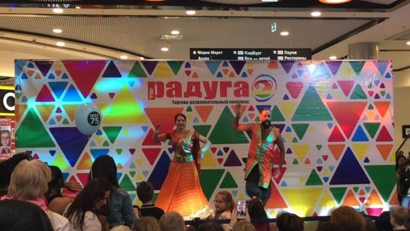 Участники WIDC на фестивале Colors of India в ТРК Питер Радуга 16.09.18