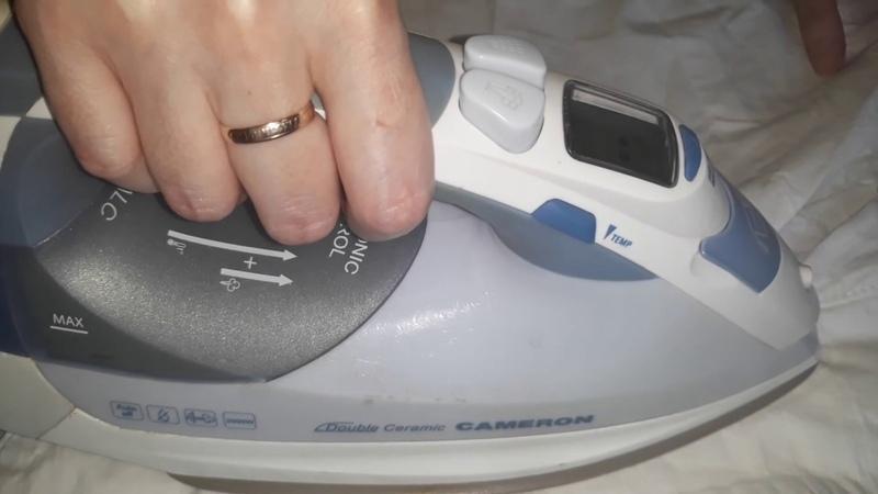 Тестирую НОВИНКУ ОТ фАБЕРЛИК Сильно мятая х/б ткань! Спрей для облегчения глажения белья