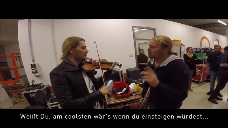 David Garrett - Webisode 1 - Backstage_rus sub