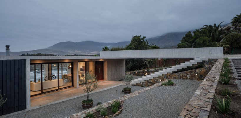 Бетонный дом Фелипе Ассади / Чили