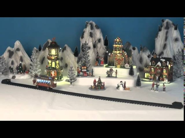 Lemax Christmas Cable Car Set Of 6 SKU 44762