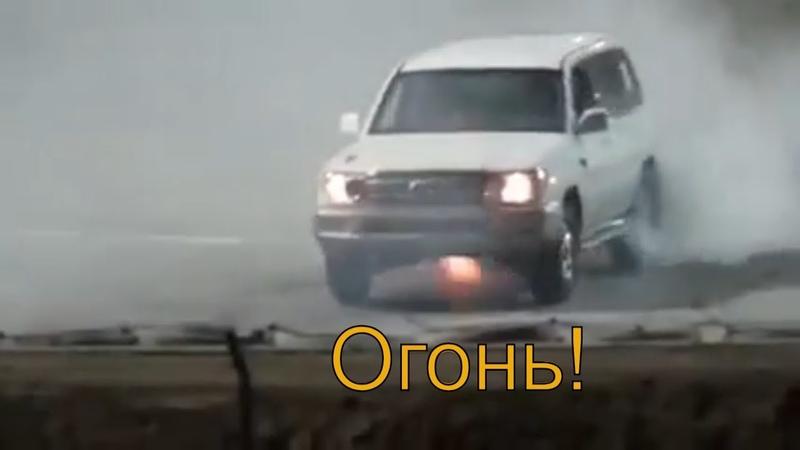 Арабский дрифт Toyota Land Cruiser