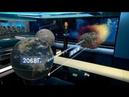 Гибельная траектория ученые смоделировали падение астероида Апофис на Землю