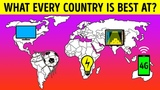 What Every Country In the World Is Best At?