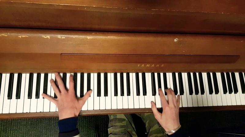 Seryoga Чёрный Бумер на пианино Chernyy Bumer on Piano
