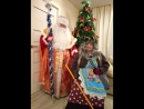 Поздравление детей с праздником Новым годом Баба Яга и Дед Мороз