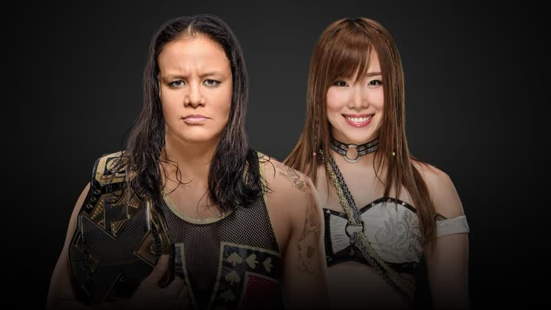 Shayna Baszler vs. Kairi Sane WWE NXT TakeOver WarGames 2
