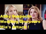 Abby Seeks Truth About Summers Wedding Discovers Mia Secret On Lola The Young and the Restless