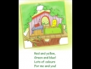 English for children. Spotlight 2. Page 29 ex 3 - The Tree House Song