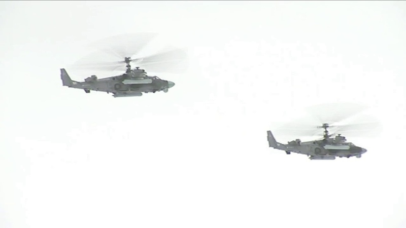 Десантники захватили три аэродрома условного противника