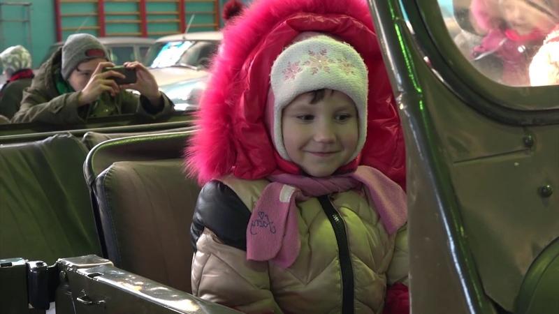 МВД ЛНР и Ночные волки Донбасс организовали экскурсию для детей на базе мотоклуба