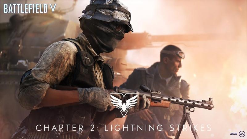 Обновление Battlefield V — глава 2 «Удар молнии»
