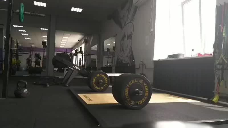 Становая 140 кг на 10 повторений