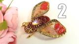 Бабочка из бисера. Брошь бабочка. Бархатная брошь. ЧАСТЬ 2 Мастер класс от Натали Амаполы