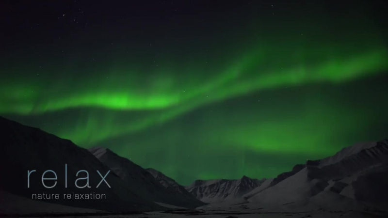 Aurora Borealis in 4K UHD_ Northern Lights Relaxation Alaska Real-Time Video 2 H (1)