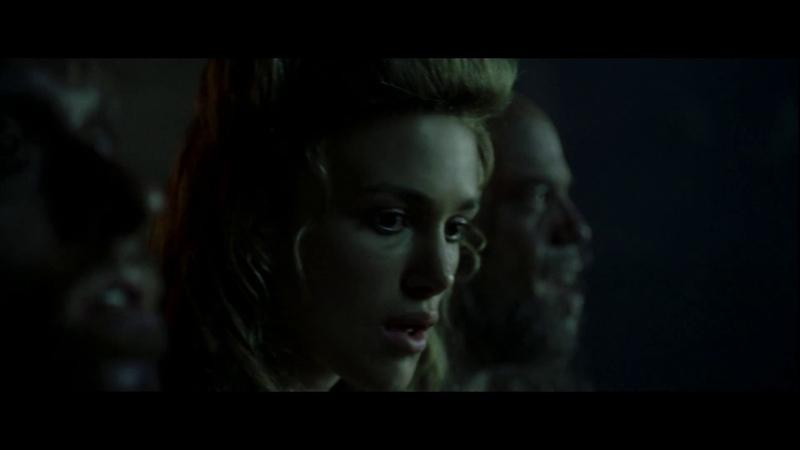 Пираты доставляют Элизабет Суонн на Черную Жемчужину. HD