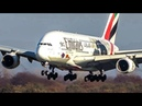 AVIATION REVIEW of YEAR 2018 - 60 Minutes PURE AVIATION - Airbus A380, Boeing 747 ... (4K)