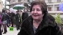 Aleppo Noch vor zwei Jahren undenkbar Armenisch syrische Gläubige feiern in Frieden Weihnachten
