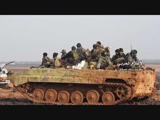 خاص: مشاهد من عمليات الجيش السوري في عمق البادية السورية ضد فلول داعش باتجاه تلول الصفا بريف دمشق