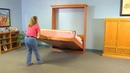Create-A-Bed® Do-It-Yourself Adjustable Deluxe Murphy Bed Kit - Features Benefits