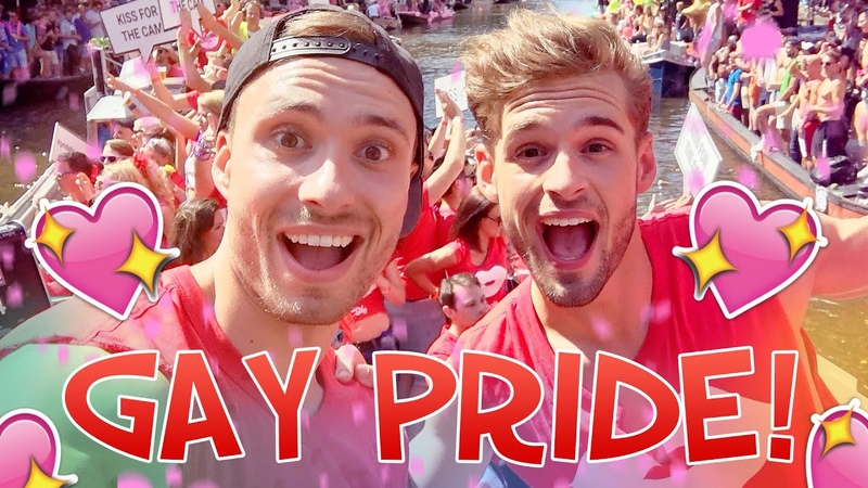 Op de YOUTUBE BOOT bij de GAY PRIDE!   Rutger Thomas Vlog