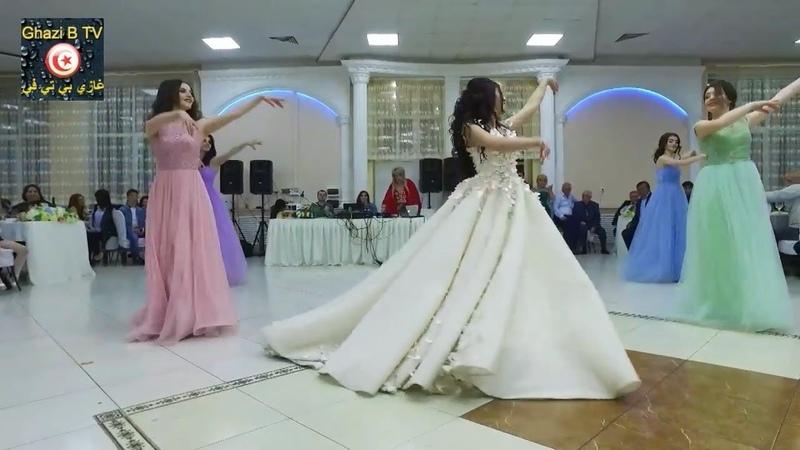 شاهد هذه العروس كيف رقصت لزوجها على اغنية ب